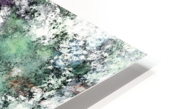 Walking through water HD Sublimation Metal print