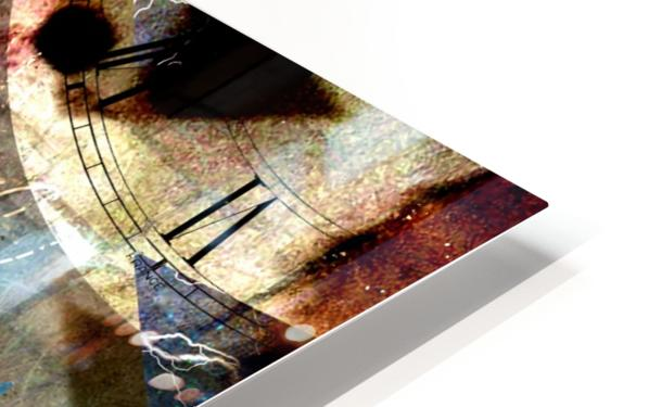 The Shards of Reality HD Sublimation Metal print