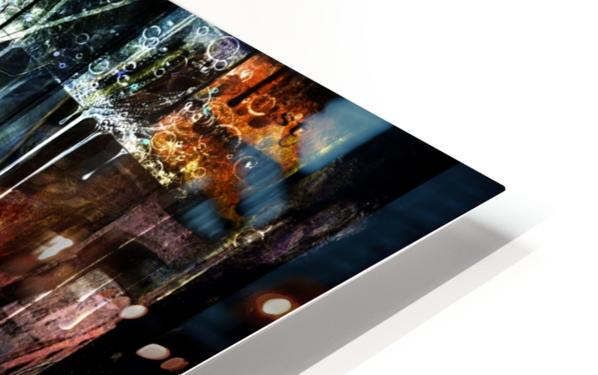 In the Heart of the City HD Sublimation Metal print