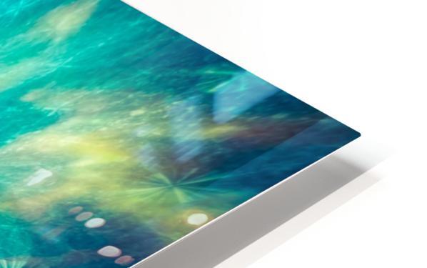 The Crab Nebula Bridge HD Sublimation Metal print