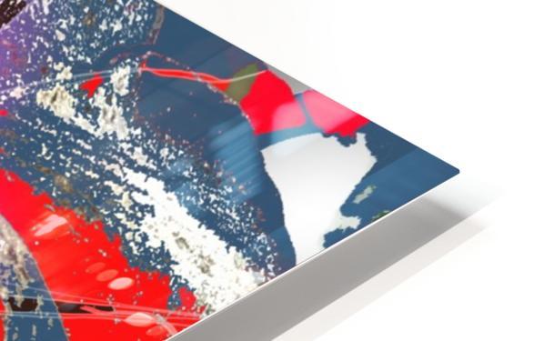 Pandemic Petunia HD Sublimation Metal print