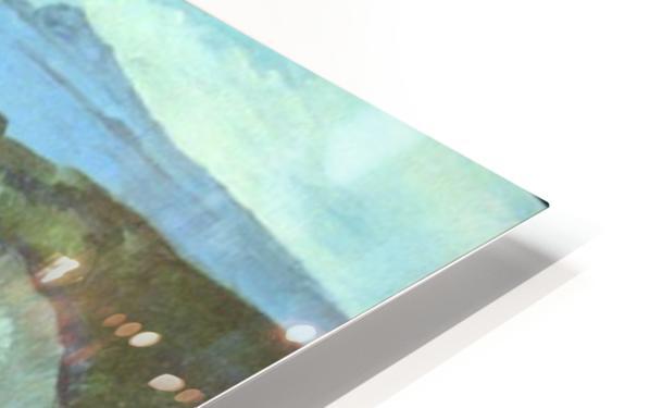 L Estaque by Cezanne HD Sublimation Metal print