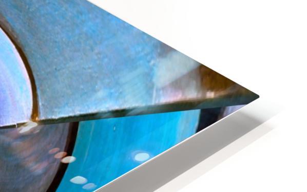 Artdeco Twisted Pattern HD Sublimation Metal print