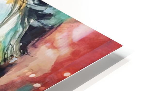 Evangelina HD Sublimation Metal print