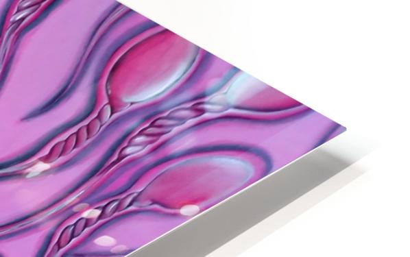 Sperms pink HD Sublimation Metal print