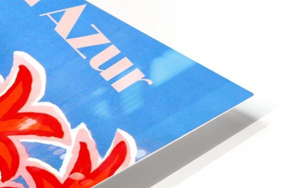 Cote D Azur HD Sublimation Metal print