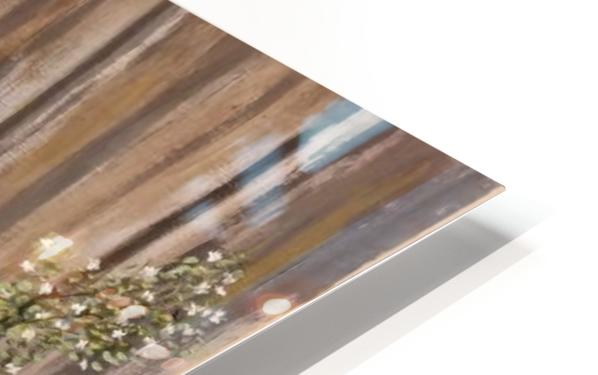 Summer blossms HD Sublimation Metal print