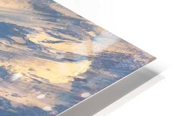 Mountain stream HD Sublimation Metal print
