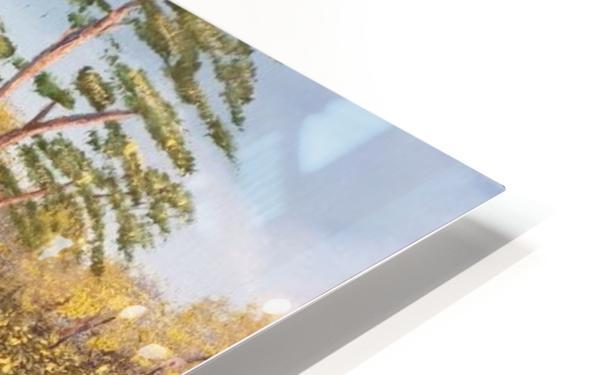 Hunting lodge HD Sublimation Metal print