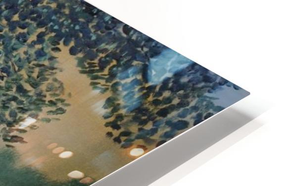 The sentinel tree HD Sublimation Metal print