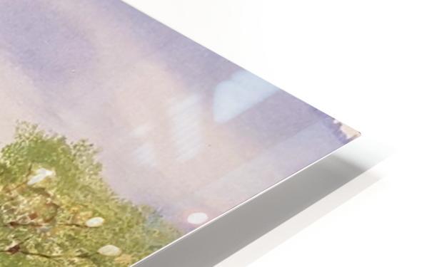 Village Green HD Sublimation Metal print