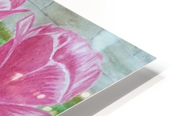 Red Tulips HD Sublimation Metal print