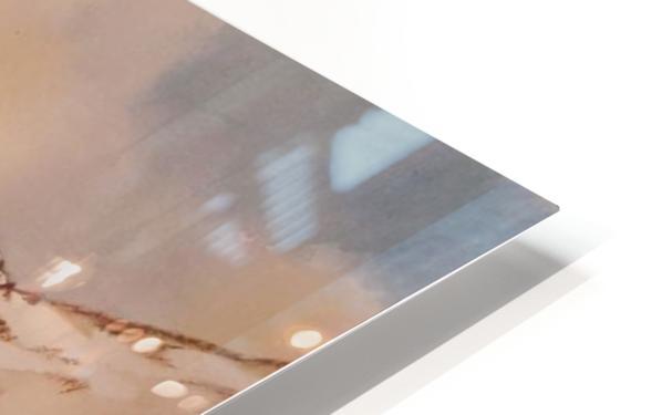 Ladakh Stream HD Sublimation Metal print