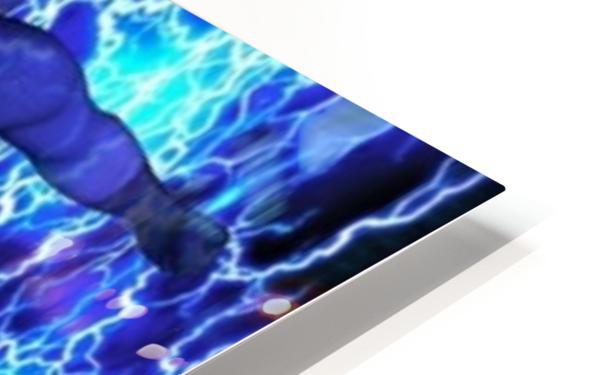 Lightning Bolt HD Sublimation Metal print