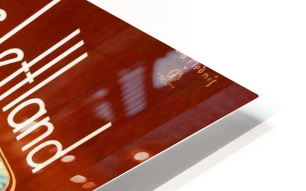 Latvia HD Sublimation Metal print