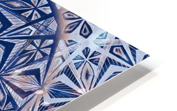 Vintage Kaleidoscope Handdrawing HD Sublimation Metal print