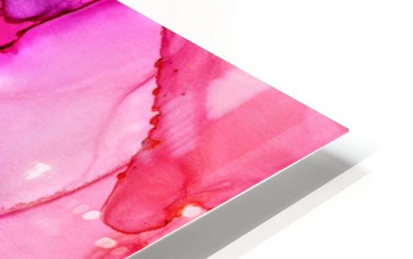 Happiness in Pink HD Sublimation Metal print
