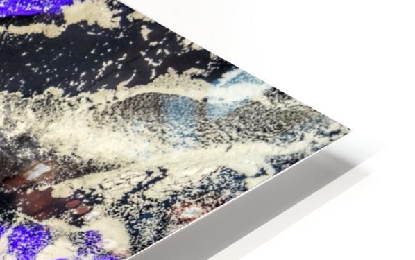 Purple Mirage II HD Sublimation Metal print