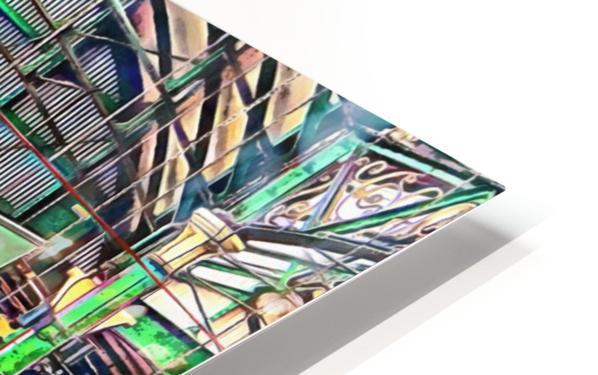 Borough Market London HD Sublimation Metal print