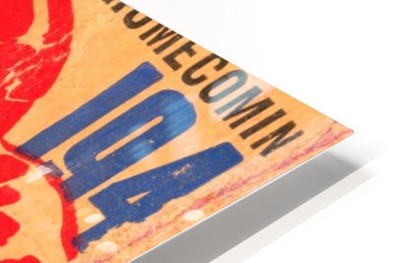 1940 Iowa vs. Purdue HD Sublimation Metal print