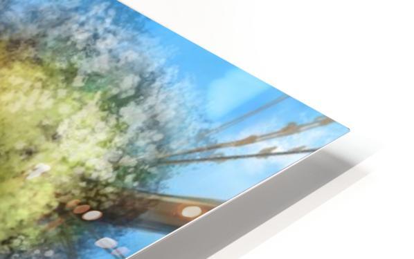 Tree Ship HD Sublimation Metal print