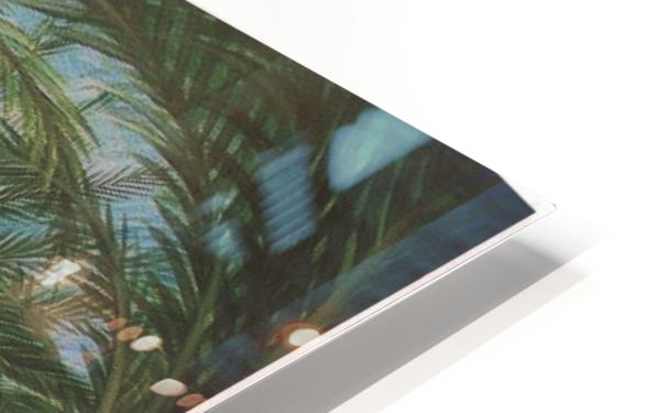 Shady beach HD Sublimation Metal print