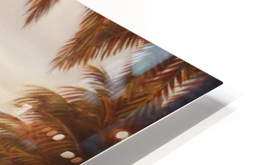 morning beach HD Sublimation Metal print