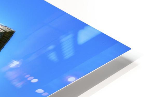 Toit bleu HD Sublimation Metal print