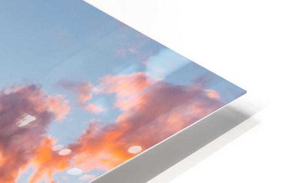 Winnipeg Sunset HD Sublimation Metal print