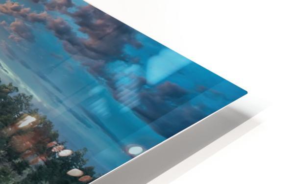 Colorado Elk HD Sublimation Metal print
