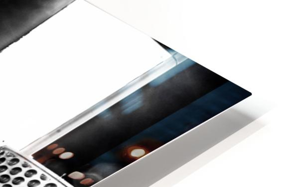 Las Vegas Night Shot B&W HD Sublimation Metal print