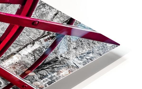Wagon Wheel HD Sublimation Metal print