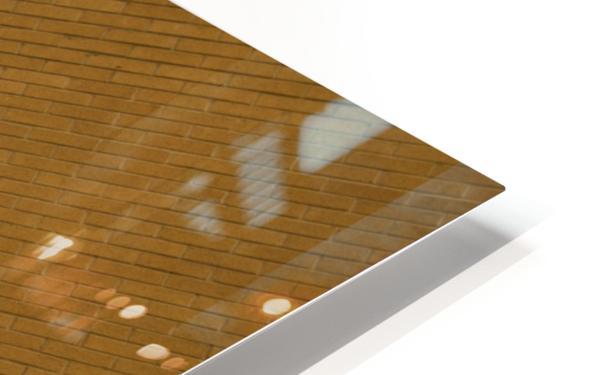 Bending Light on Brick HD Sublimation Metal print