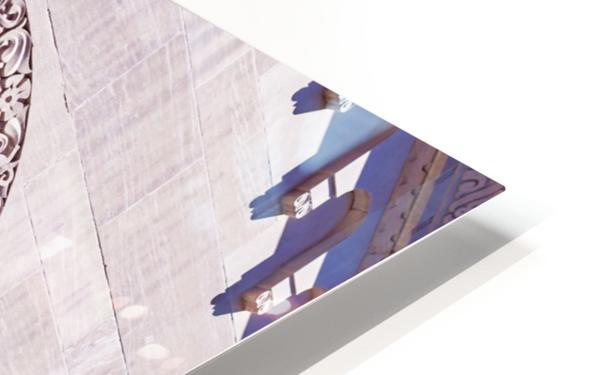 Foster Memorial Window HD Sublimation Metal print