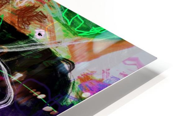 A Z E A HD Sublimation Metal print