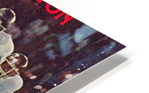 1983 houston cougars football HD Sublimation Metal print