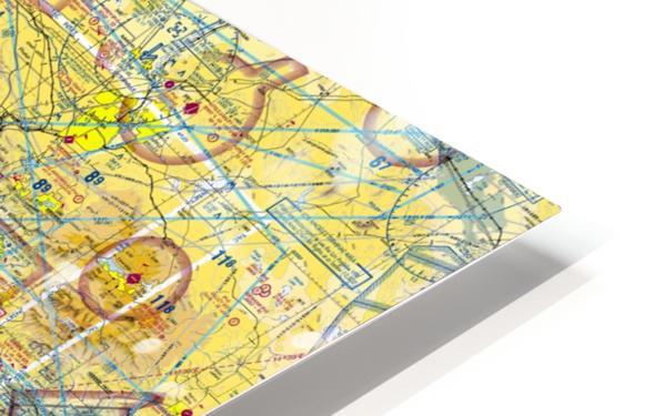 LA & San Diego Aeronautical Wall Art HD Sublimation Metal print