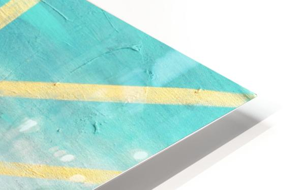 Art deco geometric II HD Sublimation Metal print