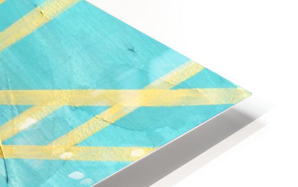 Art deco geometric III HD Sublimation Metal print