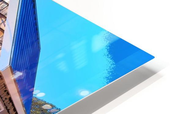 Yacht Basin boathouse HD Sublimation Metal print