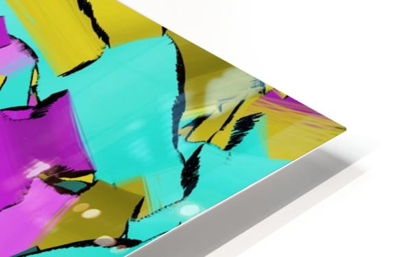abstract flow art HD Sublimation Metal print