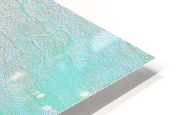 Subtle Silver HD Sublimation Metal print