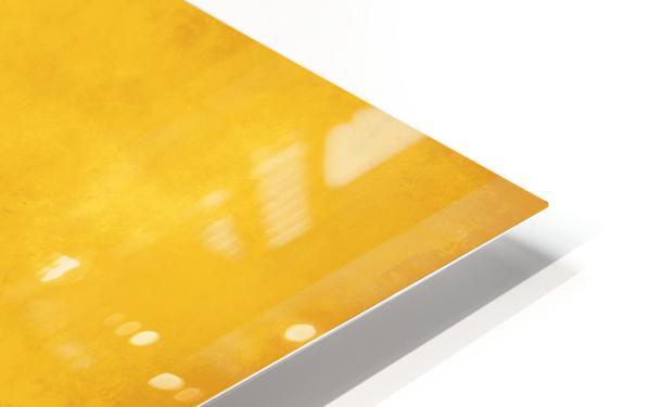 Yellow 44 HD Sublimation Metal print