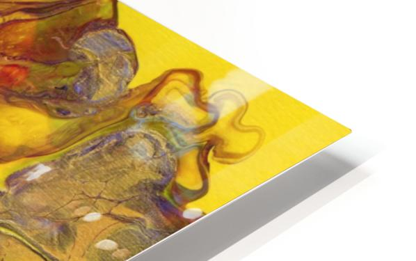 Fire Bloom  HD Sublimation Metal print