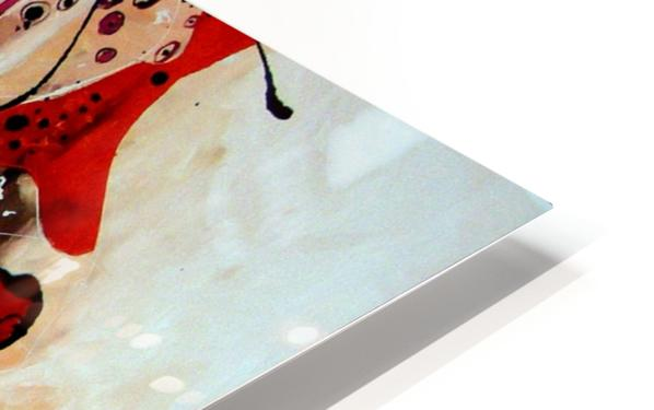 Magic red HD Sublimation Metal print
