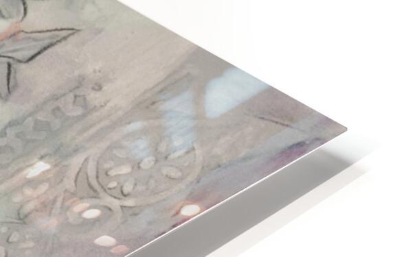 Riverton Wallpaper Panel I HD Sublimation Metal print