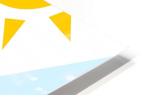 The Pyramid HD Sublimation Metal print