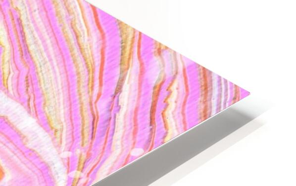Pink HD Sublimation Metal print
