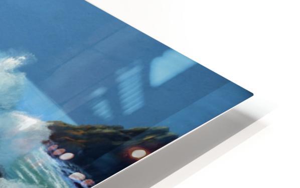 Rolling Breakers HD Sublimation Metal print