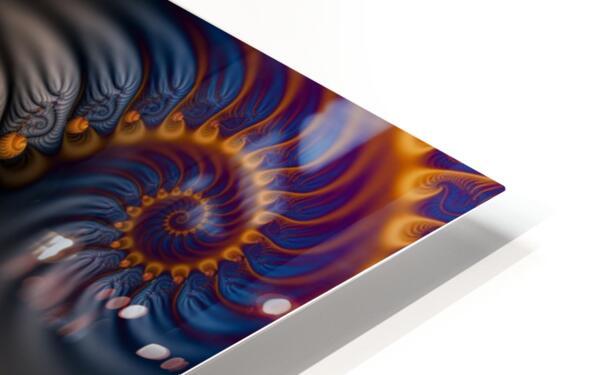 Blue Flame HD Sublimation Metal print